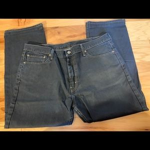 Levi's 504 discontinued straight leg jeans 38x30